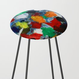 The Artist's Palette Counter Stool