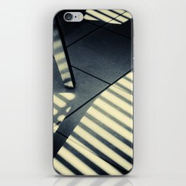Shadow Slit Abstract iPhone Skin