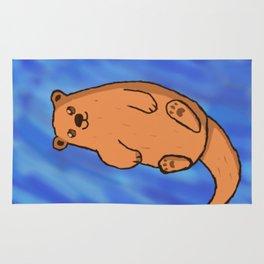 Floatin' Otter Rug
