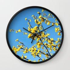 boom boom bloom Wall Clock