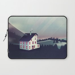 Castle in the Mountains Laptop Sleeve