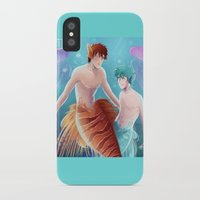 kuroko iPhone & iPod Cases featuring Kagami & Kuroko by kvei