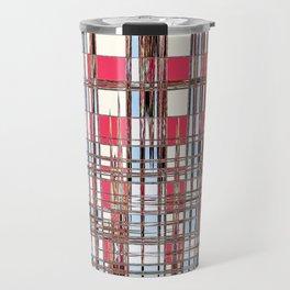 Abstract Coleus Travel Mug