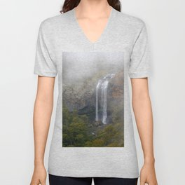 Danger Upper Falls Unisex V-Neck