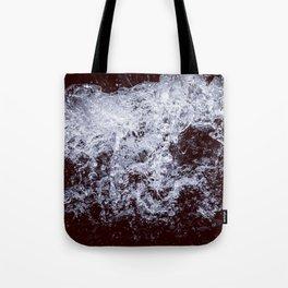 Rage - Black and White Tote Bag