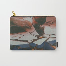 Lychee Mosaic Carry-All Pouch