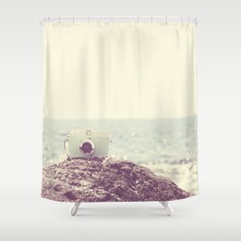 the dreamer ... Shower Curtain