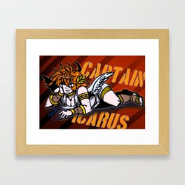 Captain Icarus Framed Art Print