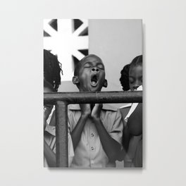 Praise The....(Yawn) Metal Print