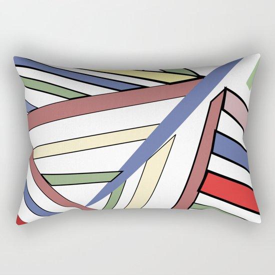 Haphazard Balance II Rectangular Pillow