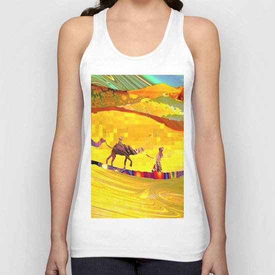 over the never ever ending sand Unisex Tank Top