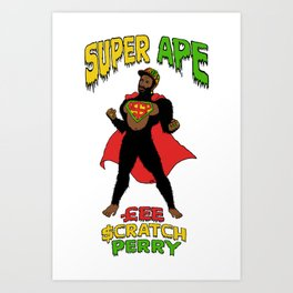 Super Ape Art Print