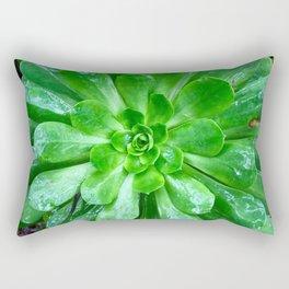 Giant succulent flower Rectangular Pillow
