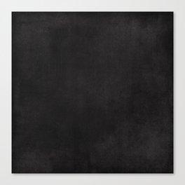 Simple Chalkboard background- black - Autum World Canvas Print