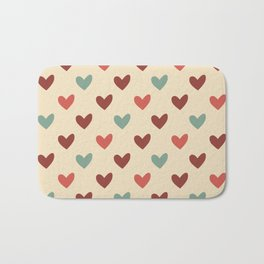 Christmas love candy Bath Mat