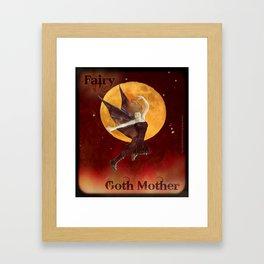 FAERIE GOTH MOTHER - 033 Framed Art Print
