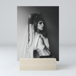 Monochrome Thoughts Mini Art Print
