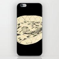 crocodile iPhone & iPod Skins featuring Crocodile by Mr. JJ