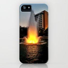Huntsville Fountain iPhone Case
