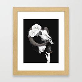 Iswara Framed Art Print