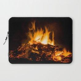 Fire flames Laptop Sleeve