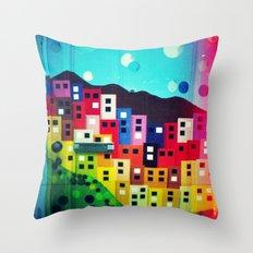 Diana Madeira Throw Pillow