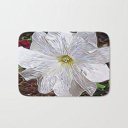 Enchanted Flower Bath Mat