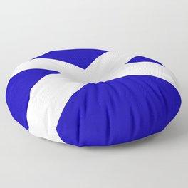 Scottish Flag Floor Pillow