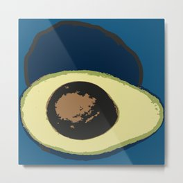 Life Cycle of an Avocado Metal Print