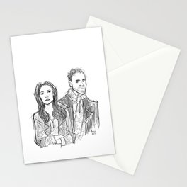 elementary: holmes and watson (sketch) Stationery Cards