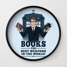 The Best Weapons in the World Wall Clock