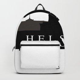 helsinki skyline Backpack