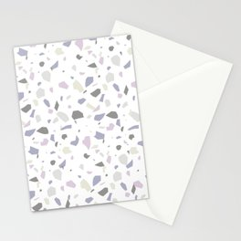 Nobody Knows - Terrazzo Pattern Stationery Cards