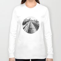 nashville Long Sleeve T-shirts featuring Road to Nashville by GF Fine Art Photography