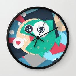 Puffy Wall Clock