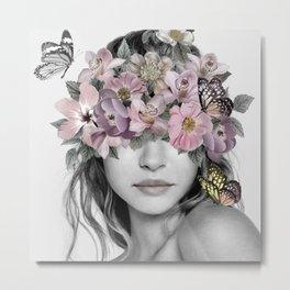 Flower Girl 4 Metal Print