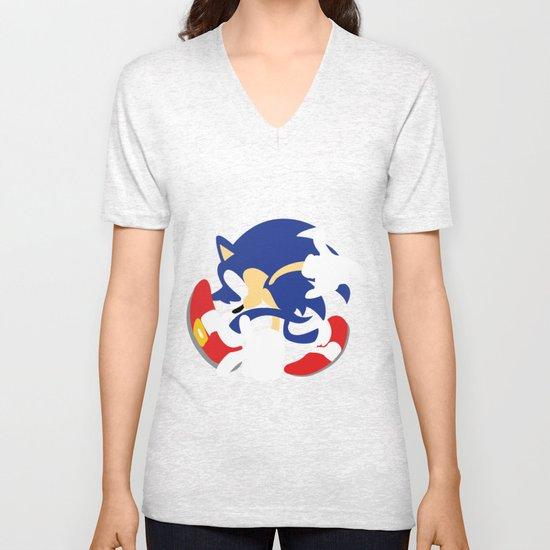 Sonic Unisex V-Neck