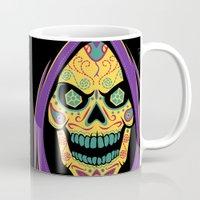 skeletor Mugs featuring Señor de Destrucción by Fanboy30