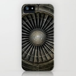 The Plane Engine iPhone Case