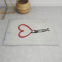heart wall Rug