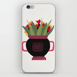 Floral vibes XII iPhone Skin
