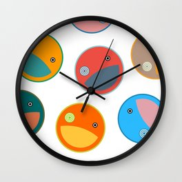 Utterly quackers  Wall Clock