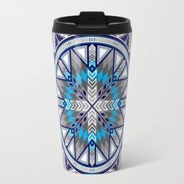 Sacred Places Blue Travel Mug