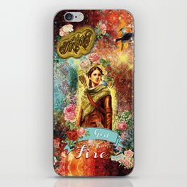 Katniss - Girl on Fire iPhone Skin