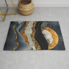Metallic Mountains Rug