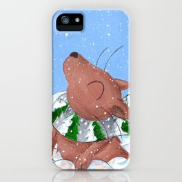 Winter's Here to Stay! iPhone Case