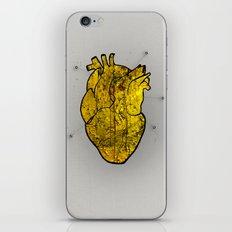 Heart of gold iPhone & iPod Skin