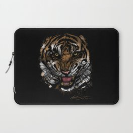 Tiger Face (Signature Design) Laptop Sleeve