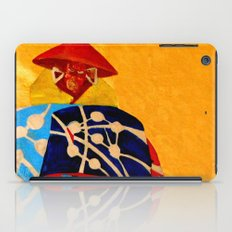 japanese men in traditional clothes iPad Case
