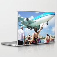 airplane Laptop & iPad Skins featuring Airplane! by Noah Bolanowski